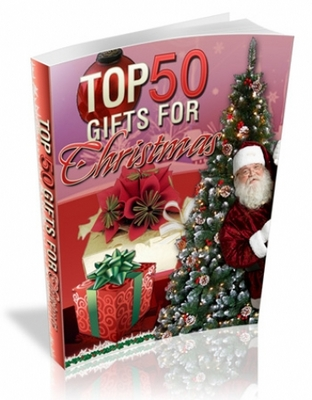 Product picture Top 50 Gifts For Christmas   Master Resale Rights