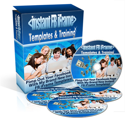 Product picture Instant FB iFrame Template & Training Package Personal Use!