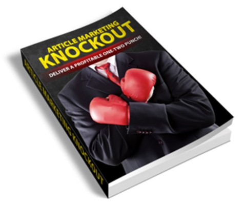 Product picture Article Marketing Knockout PLR Ebook