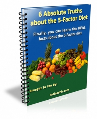 Product picture 6 Absolute Truths About The 5-Factor Diet  with MRR
