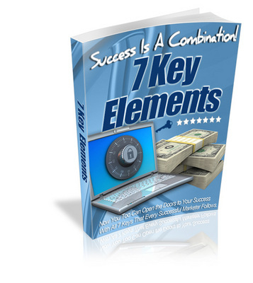 Product picture Success Is A Combination! 7 Key Elements