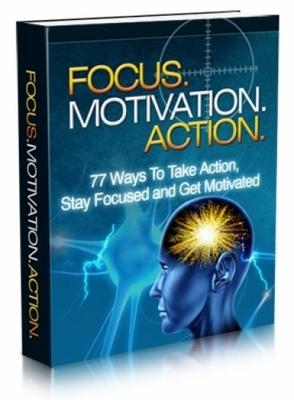 Product picture Focus. Motivation. Action.